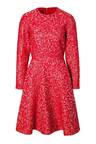 dress flare dress flare fit red