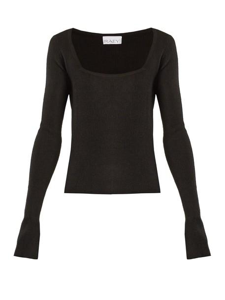Raey sweater black