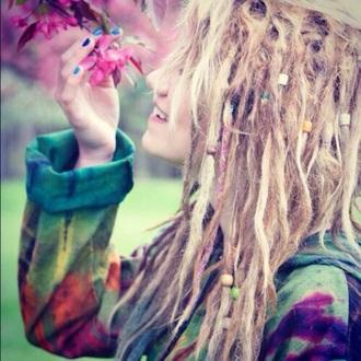coat multi colored hippie indie boho boho sweater