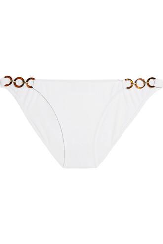 bikini embellished white swimwear