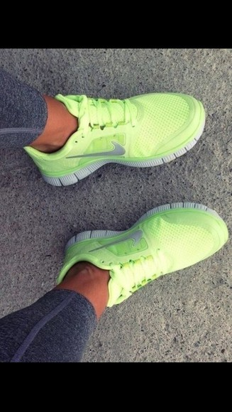 shoes mint green running fitness