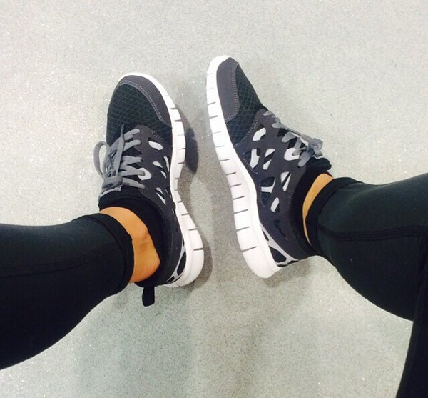 shoes nike black grey blackandgray white blackwhitegray sneakers cutesneakers cute nike running shoes running shoes