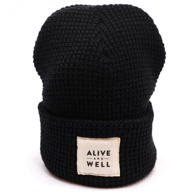 Alive & Well Waffle Knit Beanie | Alive & Well