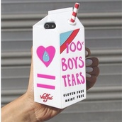 phone cover,phone,tumblr,feminist,feminism,harajuku,quote on it phone case,boys tears,milk carton,milk carton iphone c,iphone cover,iphone case,valfre,milk carton iphone case,gorgeous,fashion,style,design,heart,drink,iphone case milk,milk
