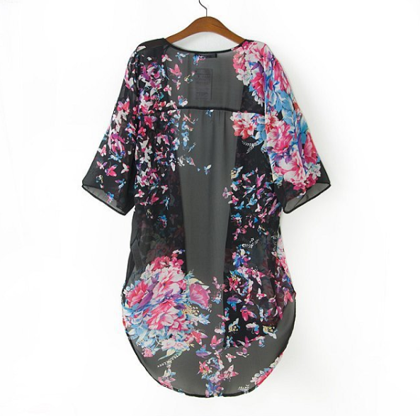 Butterflower long kimono / big momma thang