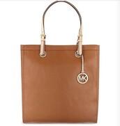 bag,selfridges,michael kors,brown bag,nude