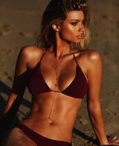 bikini top,purple bikini top,swimwear