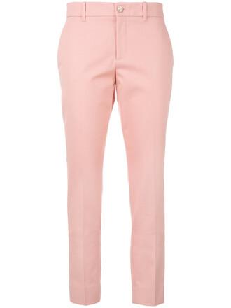 women classic spandex cotton purple pink pants