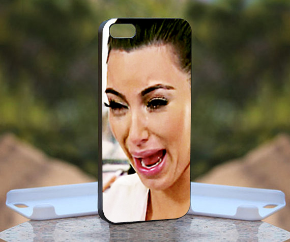Kim Kardashian doesnu2019t make the prettiest faces while crying, it