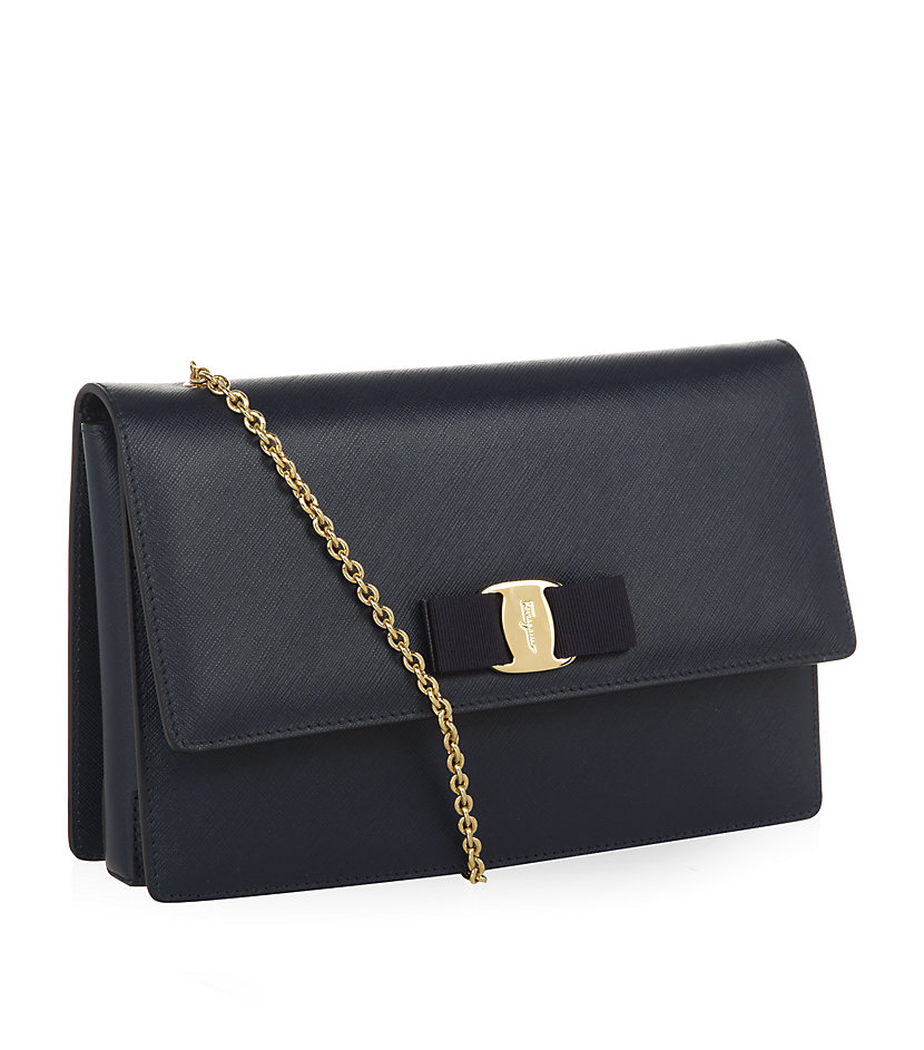 Salvatore Ferragamo Large Vara Flap Bag