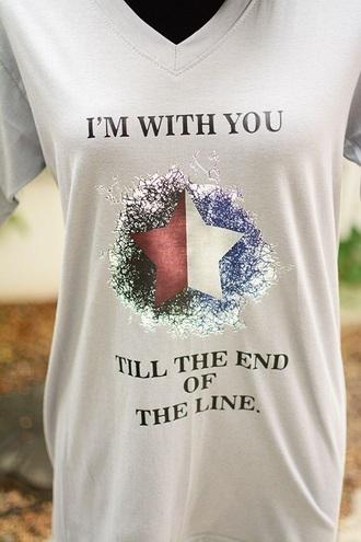 shirt the avengers bucky barnes steve rogers marvel white stars t shirt print