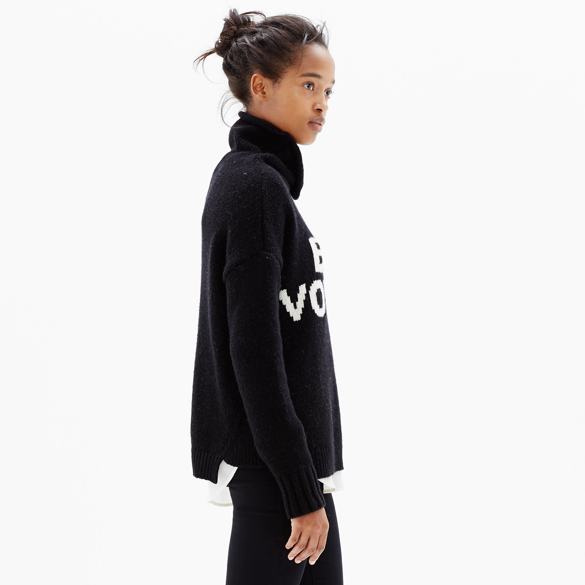 Bon voyage turtleneck sweater