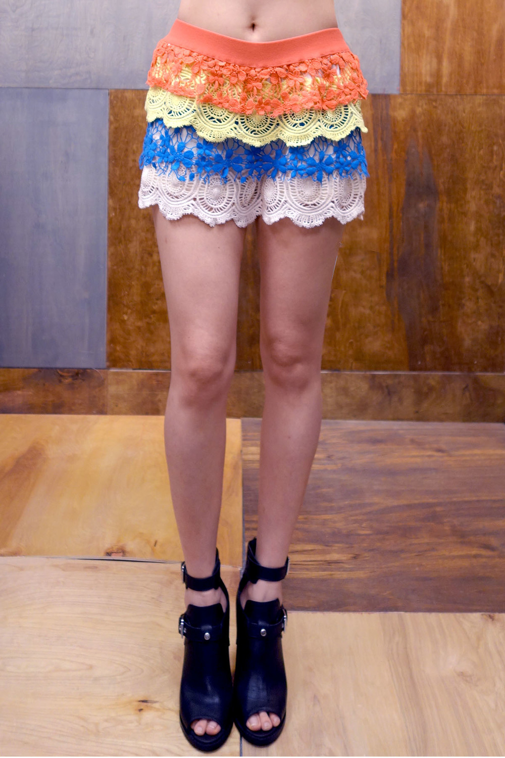 Color me lace shorts — the room nyc