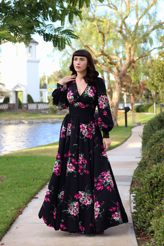 southerncaliforniabelle blogger dress shoes underwear make-up fall dress maxi dress