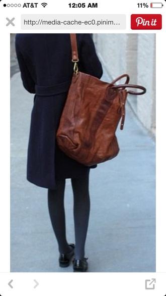 bag brown tote brown bag tote bag trendy long bag super cute brown tote bag