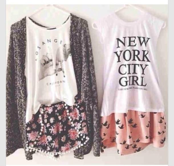 blouse new york t-shirt