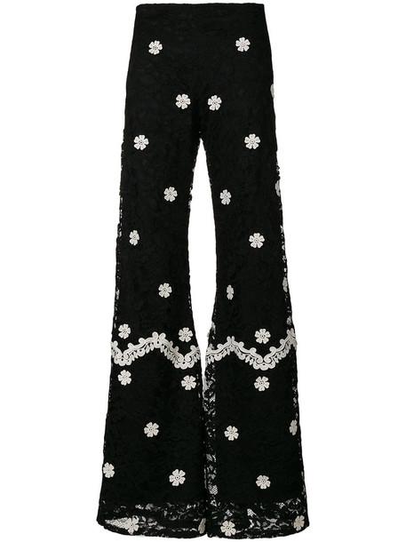 Alexis pants women spandex cotton black