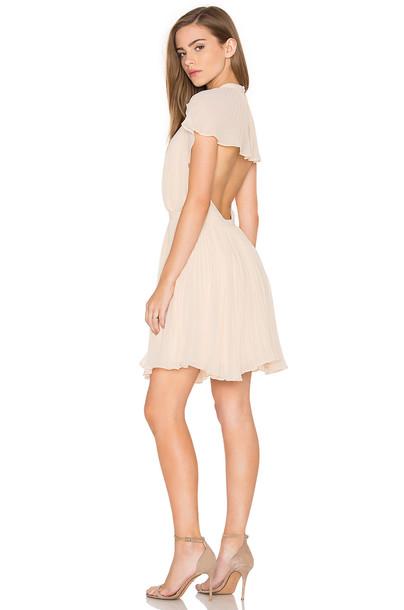 Keepsake dress mini dress mini back cream