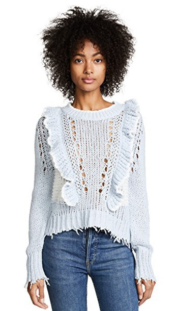 Wildfox sweater pale