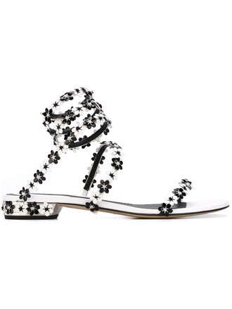 strappy sandals strappy sandals floral black shoes