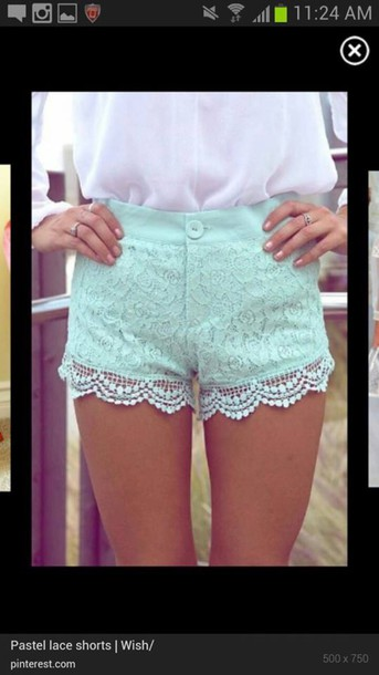 shorts bleached shorts