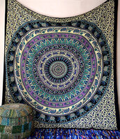 home accessory,hippie,bohemian,boho,boho decor,hippie decor,bohemian decor,wall decor,home decor,blanket,bedding,tapestry,wall hanging,mandala,beach,queen bed duvet