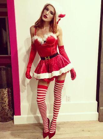 dress tights costume halloween costume bella thorne instagram