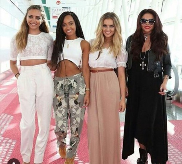Jumpsuit Little Mix Perrie Edwards Jade Thirlwall Jesy Nelson