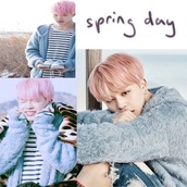 jacket,spring day,pastel,pastel sweater,cute,black and white,stripes,sweater,fluffy,blue,light blue,baby blue,soft,shirt,bts,korean fashion,korean style,korean coat,korean shirt,korean music,bts jimin,bts kpop,bts sweater,jimin bts,park jimin,cute jimin,jimin shirt,jimin
