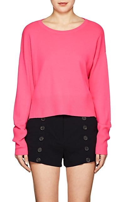 Lisa Perry Cashmere Open-Back Sweater | Barneys New York