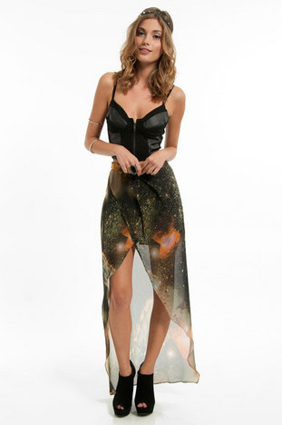 Galaxy adventure skirt ~ tobi