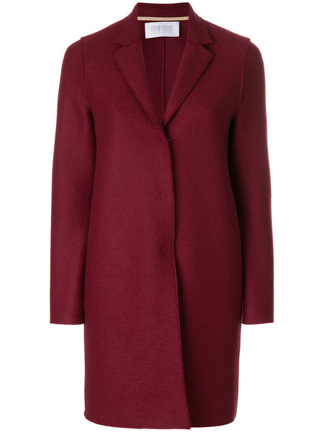 HARRIS WHARF LONDON coat women wool red