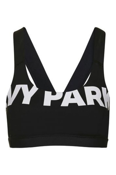 bra back mesh black underwear