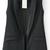 Black Lapel Sleeveless Pockets Vest - Sheinside.com