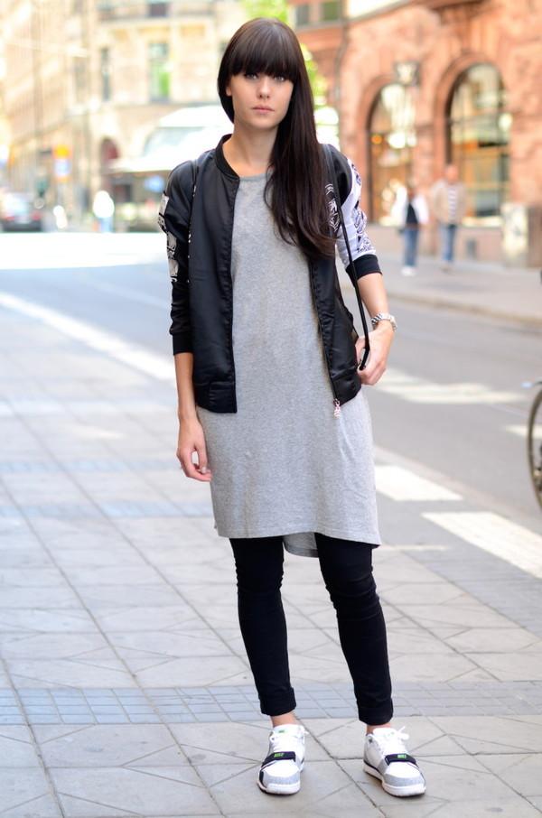 White Shirt Black Shoes