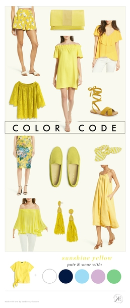 kendi everyday blogger shorts bag blouse top dress shoes skirt jewels yellow yellow dress yellow top yellow shoes yellow bag summer outfits spring outfits