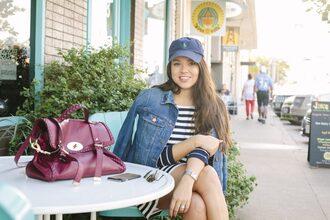 adoredbyalex blogger jacket dress shoes hat bag jewels sunglasses