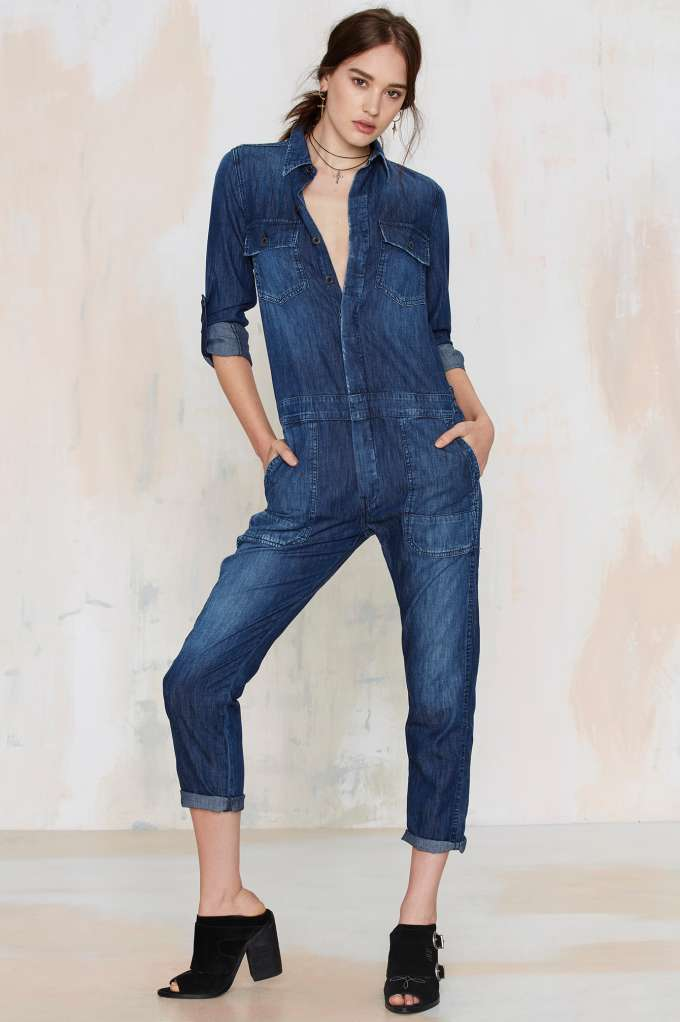 citizens of humanity denim jumpsuit citizens of humanity