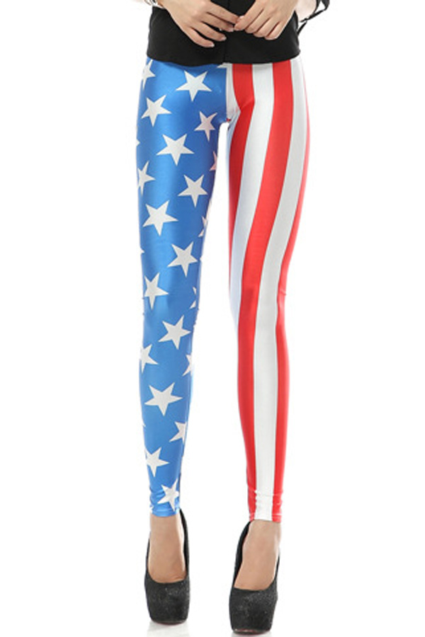 Stars And Stripes Sexy Legging