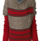 Vivienne westwood - striped knit jumper - women - polyamide/polyester/wool/alpaca - l, brown, polyamide/polyester/wool/alpaca