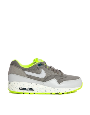 Nike | Nike Air Max 1 Grey Trainers at ASOS