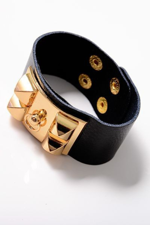 jewels naughty but nice bracelets accessories style fashion funny nice cuff bracelet studded studded bracelet gold gold studs