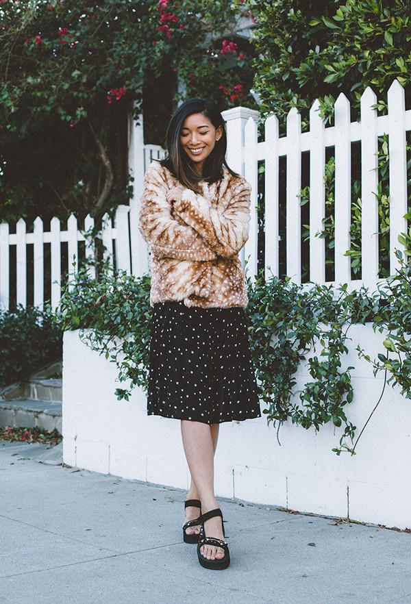 honey n silk blogger coat dress shoes