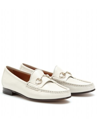 0a4ff054ff9a mytheresa.com - Gucci - LEATHER LOAFERS - Luxury Fashion for ...