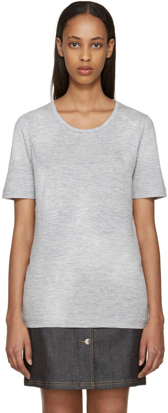 t-shirt shirt grey top
