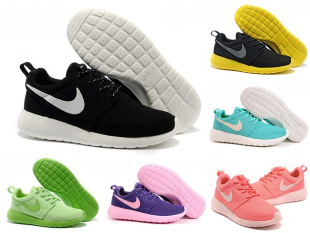 shoes nike shoes nike running shoes nike sneakers black green yellow orange  coral purple aqua sky