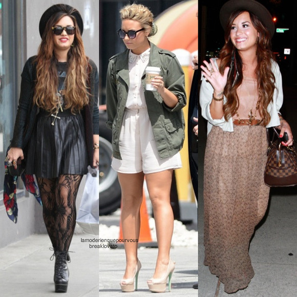 outfit outfit idea winter outfits demi lovato