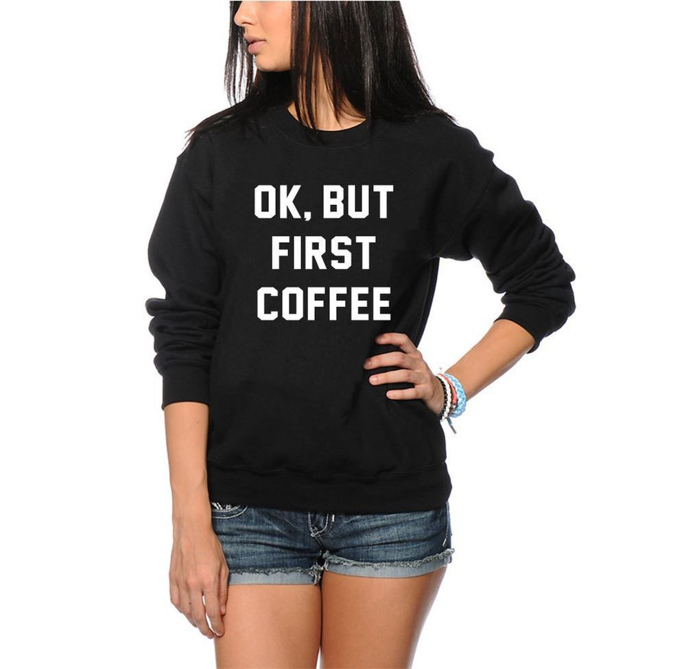 Coffee addict lover machine gift unisex sweatshirt
