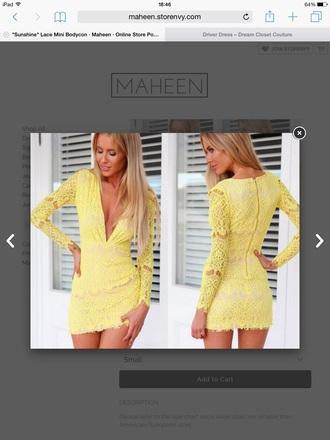 dress maheen summe yellow dress