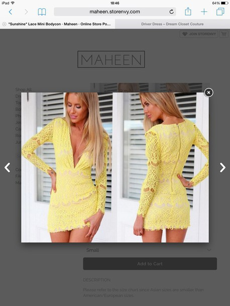 dress maheen summe yellow dress